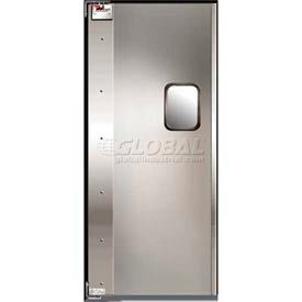 TMI Service-Pro™ Single Restaurant Swinging Door 3 x 7 Aluminum Left Hinge 300-00301