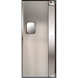 TMI Service-Pro™ Single Restaurant Swinging Door 3 x 7 Aluminum Right Hinge 300-00302