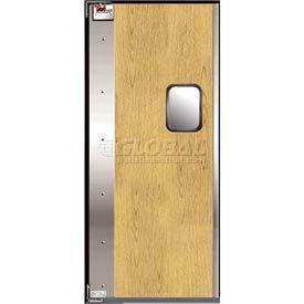 TMI Service-Pro™ Single Restaurant Swinging Door 3 x 7 Wood Laminate Left Hinge 300-00307
