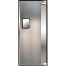 TMI Service-Pro™ Single Restaurant Swinging Door 3 x 7 Stainless Steel Right Hinge 300-00314