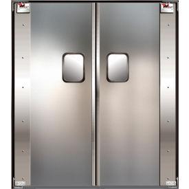 TMI Service-Pro™ Double Restaurant Swinging Door 6 x 7 Stainless Steel 300-00317