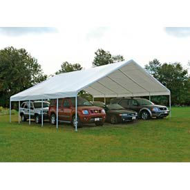 "Shelterlogic Ultra Max™ Canopy 27773, 30'W X 40'L, 2-3/8"" Frame, White"