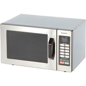 Panasonic ® NE-1054 - Microwave Oven, 0.8 Cu. Ft., 1000 Watt, Keypad, Commercial