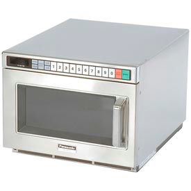 Panasonic ® 0.6 Cu. Ft. 1700 Watt Commercial Microwave