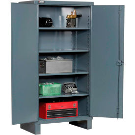"""Durham Heavy Duty Storage Cabinet HDC-183678-4S95 - 12 Gauge 35""""W x 18""""D x 78""""H"""