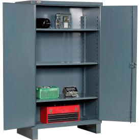 """Durham Heavy Duty Storage Cabinet HDC-244866-3S95 - 12 Gauge 48""""W x 24""""D x 66""""H"""