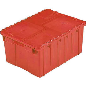 ORBIS Flipak® Distribution Container FP143  - 21-7/8 x 15-3/16 x 9-15/16 Red - Pkg Qty 6