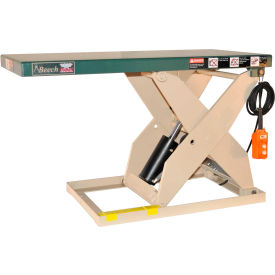 Beech LoadRedi Heavy-Duty Scissor Lift Table RM24-20-2W 36-5/8 x 24 2000 Lb. Cap. by
