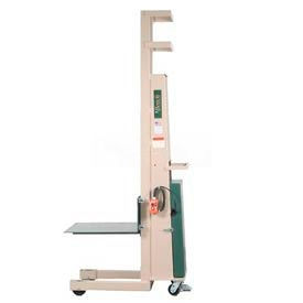 """Beech® Compact Battery Operated Work Positioner PS-3080B 80"""" Lift 1000 Lb. Cap."""