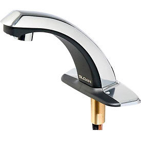 "Sloan® Optima® Plus EBF-85 Battery Powered Faucet, for 4"" Centerset"