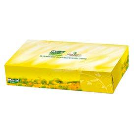100% Premium Recycled Facial Tissue, 100/Box, 30 Boxes/Carton - MRC2930