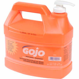 GOJO Natural Orange™ 1 Gallon Pump Bottle - 4 Bottles/Case 0945-04