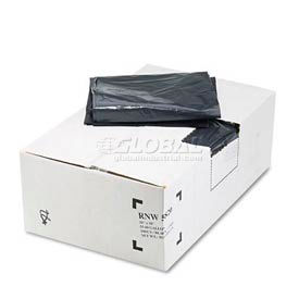 ReClaim™ Black Recycled Can Liners - 55 to 60 Gallon, 2.00 Mil, 100/Case