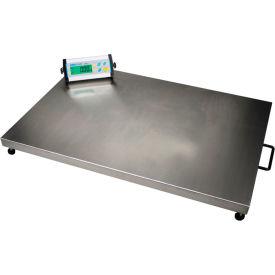 "Adam Equipment CPWplus 75L Digital Platform Scale 165 x 0.05lb 35-3/8"" x 23-5/8"" Platform W/ Wheels"