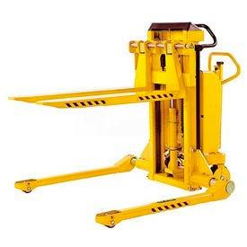 Southworth PalletPal® Mobile Leveler Stacker 2200 Lbs. Adj. Forks 44 ID Legs - PMLS-22-35-ME