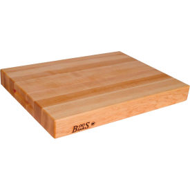 "John Boos R Series Maple Cutting Board 18"" x 12"" x 1-1/2"" - R01 - Pkg Qty 6"