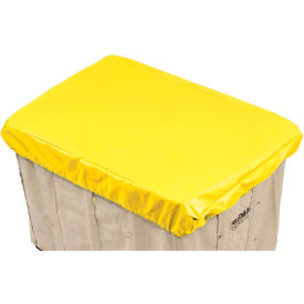 Hamper Basket Cap, 10 Oz. Vinyl, 14 Bushel, Yellow