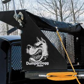 Roller Tarp Kit for 8 Foot Bed Polymer Pickup Truck Dump Inserts - DTR4510