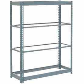 "Heavy Duty Shelving 48""W x 18 x 60""W With 4 Shelves, No Deck"