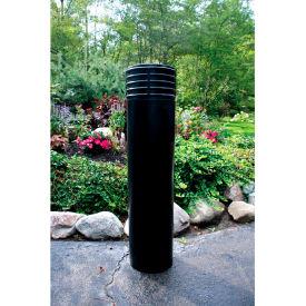 "Metro Decorative Bollard Cover Fit Pipe 6"" -6-5/8"" Black"