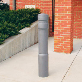 "Arch Decorative Bollard Cover Fit Pipe 6"" -6-5/8"" Gray"