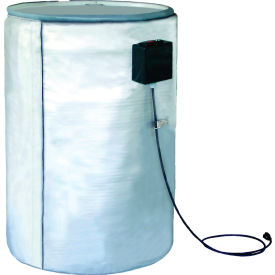 BriskHeat® 55 Gallon Full Coverage Metal Drum Heater - 120V