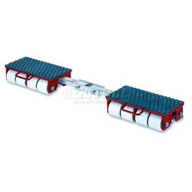 GKS Perfekt® F18 Machinery Roller Dolly Rigid Plates, Adjustable Width Connector Bar 39,600 Lb.
