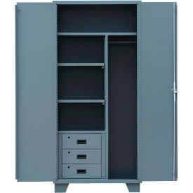 """Jamco Heavy Duty Combination Storage Cabinet MK248 - with Drawers 48""""W x 24""""D x 78""""H"""