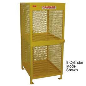 "Jamco Cylinder Storage Cabinet CA040 - Vertical Single Door 4 Cylinders - 33""W x 40""D x 40""H"