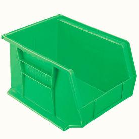 "Akro-Mils AkroBin® Plastic Stacking Bin 30239 - 8-1/4""W x 10-3/4""D x 7""H, Green - Pkg Qty 6"