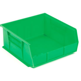 "Akro-Mils AkroBin® Plastic Stacking Bin 30255 - 16-1/2""W x 10-7/8""D x 5""H, Green - Pkg Qty 6"