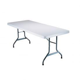 """Lifetime® Portable Folding Table 72"""" - White Granite  (Pallet Pack of 22)"""