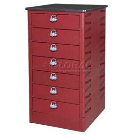 Datum TekStak Laptop Storage Locker 7 Tier Hasp Lock Laminate Top