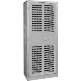 Hallowell TA50-422484-1HG All Welded TA50 Military Gear Storage Locker Gray