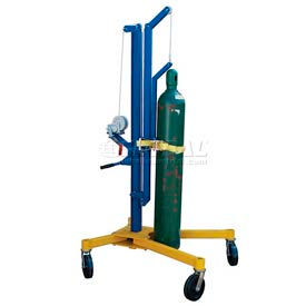 Vestil High-Lift Cylinder Lifting Cart CYL-HLT 300 Lb. Capacity