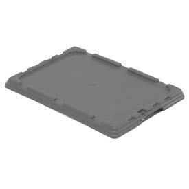 LEWISBins Lid CNO2115-1 For Nest Only Container 21-3/8  x  15-5/16  x  1-5/16 Gray - Pkg Qty 5