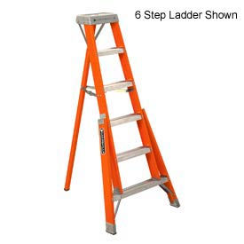 Louisville 5' Type 1A Fiberglass Tripod Ladder, 300 Lb. Cap. - FT1505