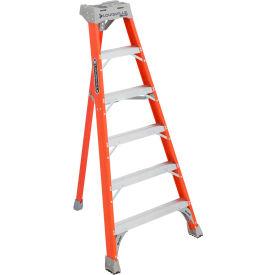 Louisville 6' Type 1A Fiberglass Tripod Ladder, 300 Lb. Cap. - FT1506