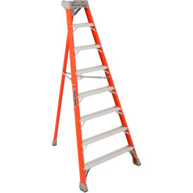 Louisville 8' Type 1A Fiberglass Tripod Ladder, 300 Lb. Cap. - FT1508