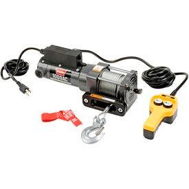 Warn® 1000AC 1000 Lb. Cap. 120V AC Powered Utility Winch 80010