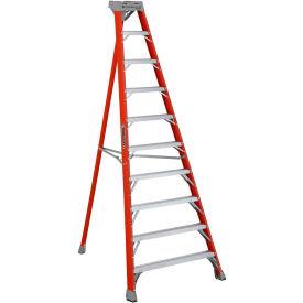 Louisville 10' Type 1A Fiberglass Tripod Ladder, 300 Lb. Cap. - FT1510