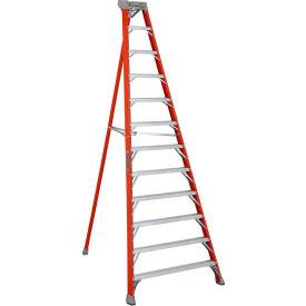 Louisville 12' Type 1A Fiberglass Tripod Ladder, 300 Lb. Cap. - FT1512
