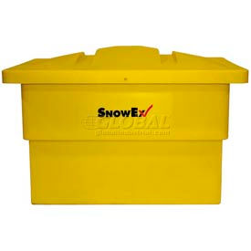 Trynex Poly Storage Salt Container with Lid B-1000 - 10 Cubic Foot