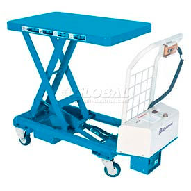 Bishamon MobiLift Battery Powered Scissor Lift Table BX-50B 1100 Lb. Capacity by