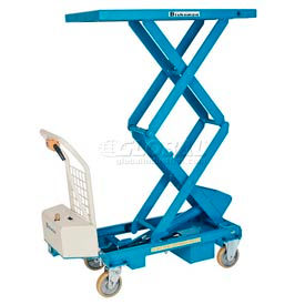 Bishamon® MobiLift™ Battery Powered Scissor Lift Table BX-30SB 660 Lb. Cap.