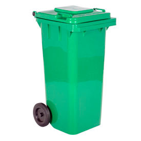 Mobile Trash Can - 32 Gallon Green - TH-32-GRN