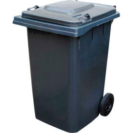 Mobile Trash Can - 95 Gallon Gray - TH-95-GY