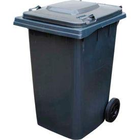 Mobile Trash Can - 95 Gallon Gray - TH-95-GY
