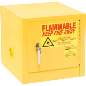 Eagle Compact Flammable Cabinet - Manual Close Door 2 Gallon