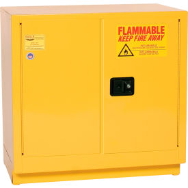 Eagle Compact Flammable Cabinet - Manual Close Door 22 Gallon